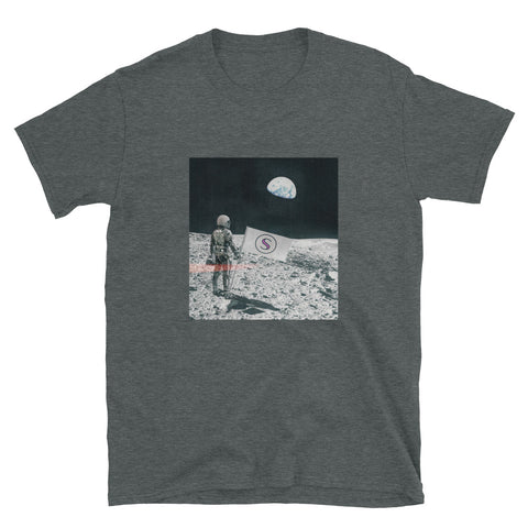 Secret Network (SCRT) Moonwalker Short-Sleeve Unisex T-Shirt