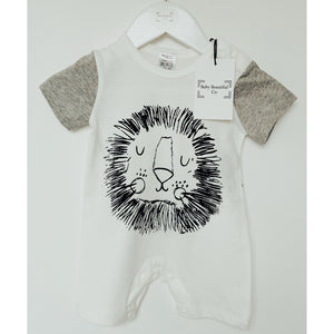 Baby Romper | Short Romper Lion Design