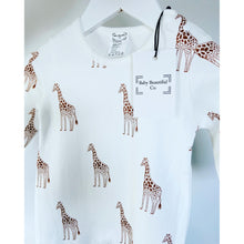 Load image into Gallery viewer, Baby Romper | Giraffe Design (Exclusive Range)