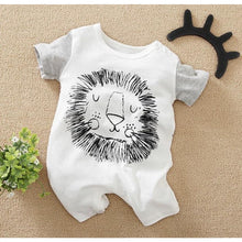 Load image into Gallery viewer, Baby Romper | Short Romper Lion Design