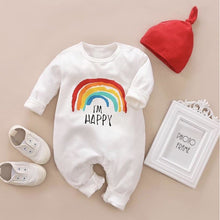 Load image into Gallery viewer, Unisex Baby Rainbow Romper 🌈