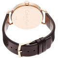 Calvin Klein - Even Grey Dial Brown Leather Ladies Watch K7B236G3