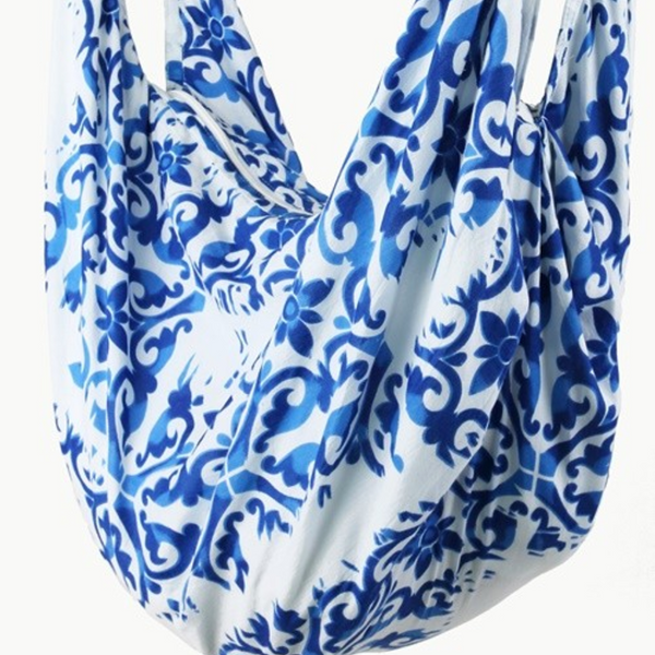 Hobo Sling Bag - Damask