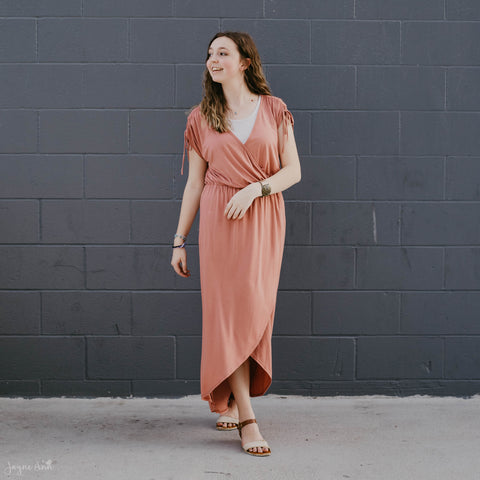 Pretty in Pink Midi Dress