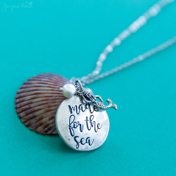 Made for the Sea Stamped Necklace