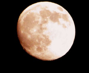 Intuitive Meaning of a Full Pink Moon