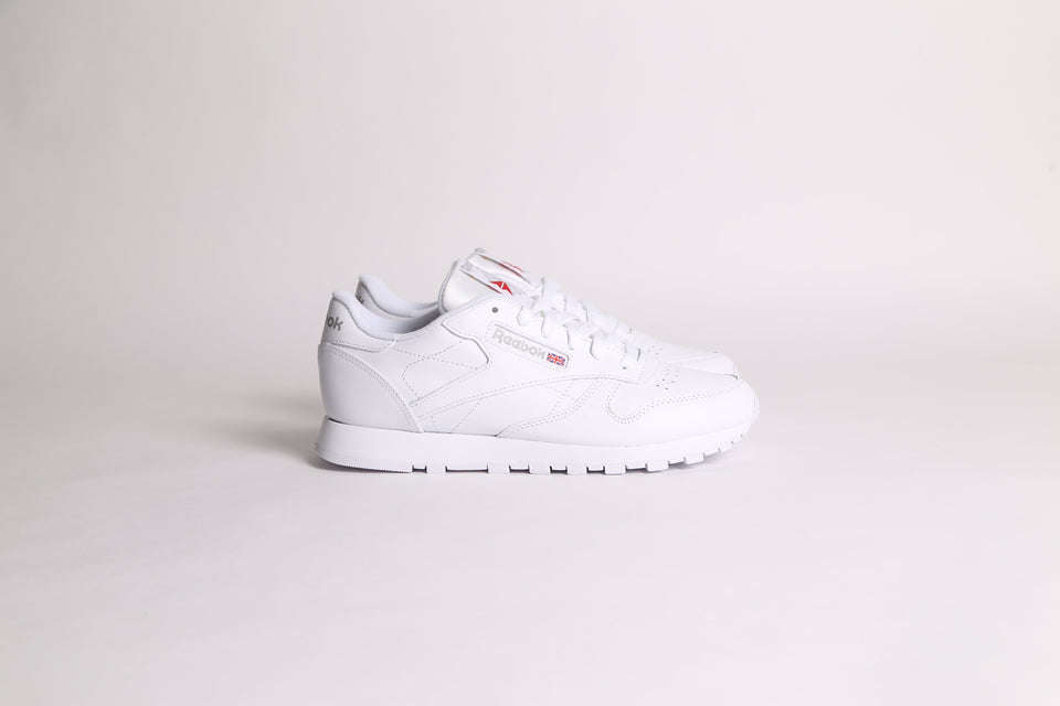 Reebok Classic Leather - Blanc Blanc