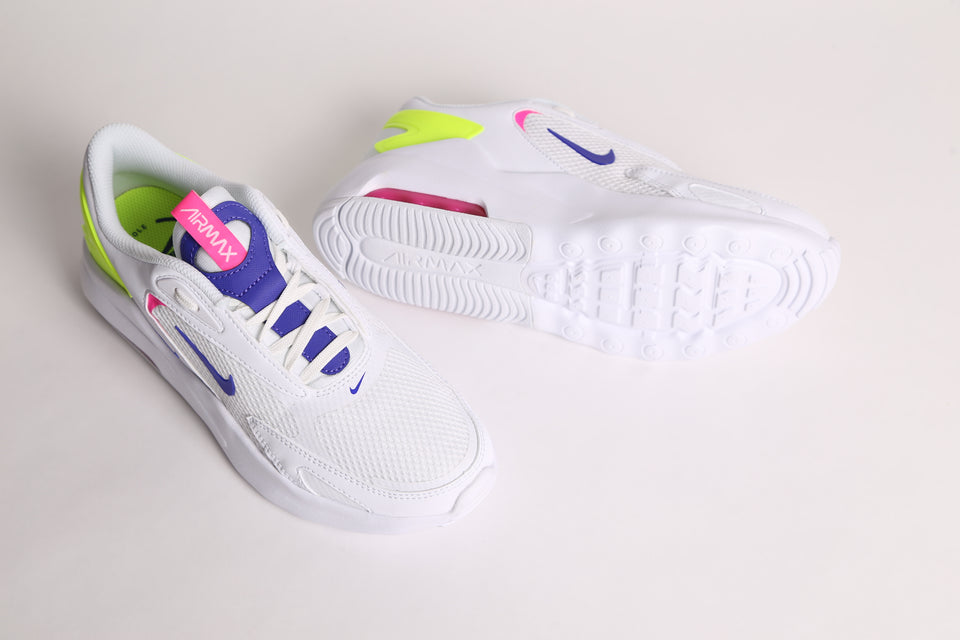 Nike Air Max Bolt AMD - Blanc Rose Volt Indigo