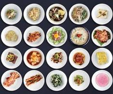 4 Banchan (Korean Side-Dishes)/4가지 반찬/ 4种配菜