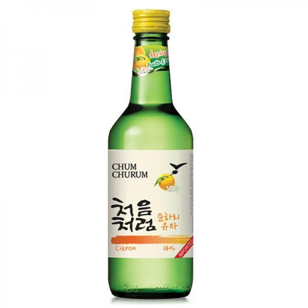 Citron Chum Churum Soju