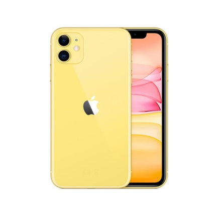 Original Used Unlocked Apple iPhone 11 128GB-yellow