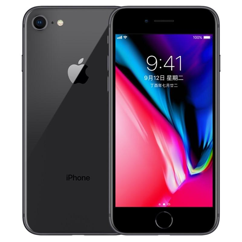 Original Used Unlocked Apple iPhone 8 64GB-Black
