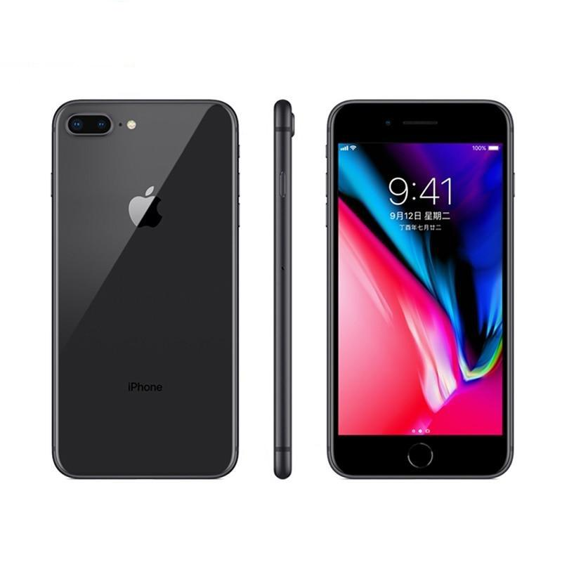 Original Used Unlocked Apple iPhone 8 Plus 256GB-Black
