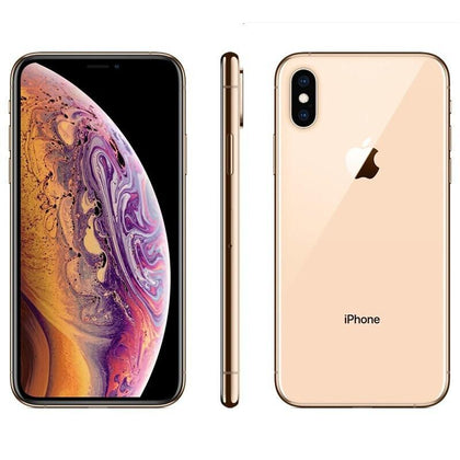 Original Used Unlocked Apple iPhone XS 64GB-gold