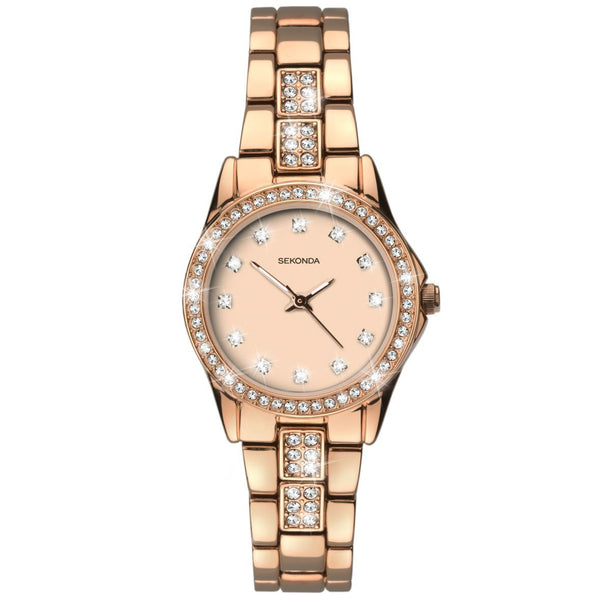 Sekonda Women's Rose Gold Bracelet Watch