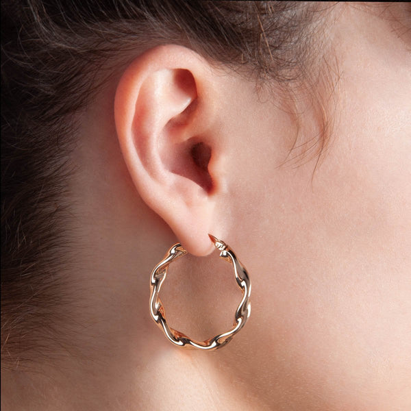 Najo - Alicia Earring Rose