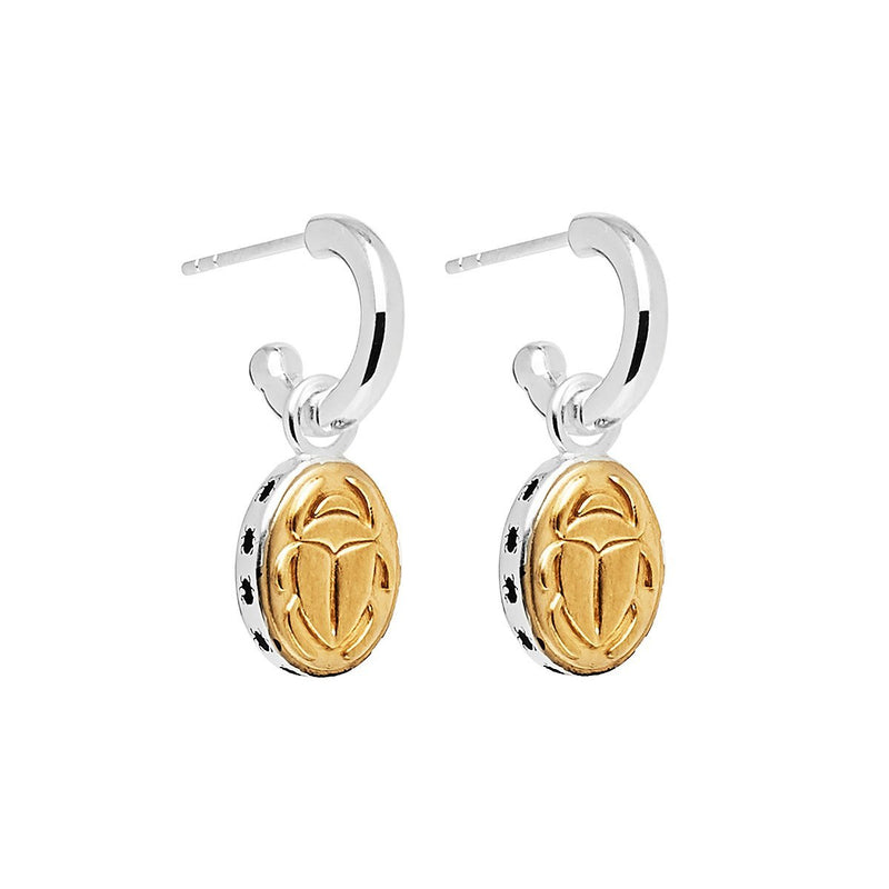 Najo - Golden Scarab Earring