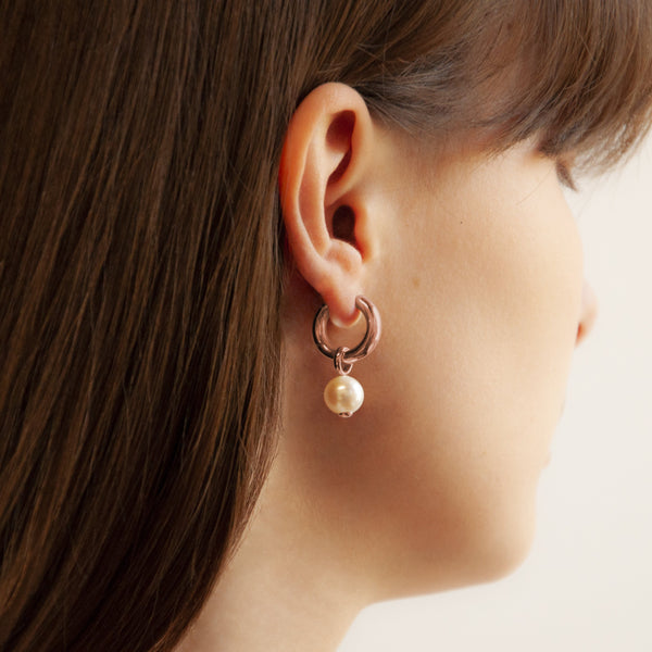 Najo - Ms Perla Earring Rose