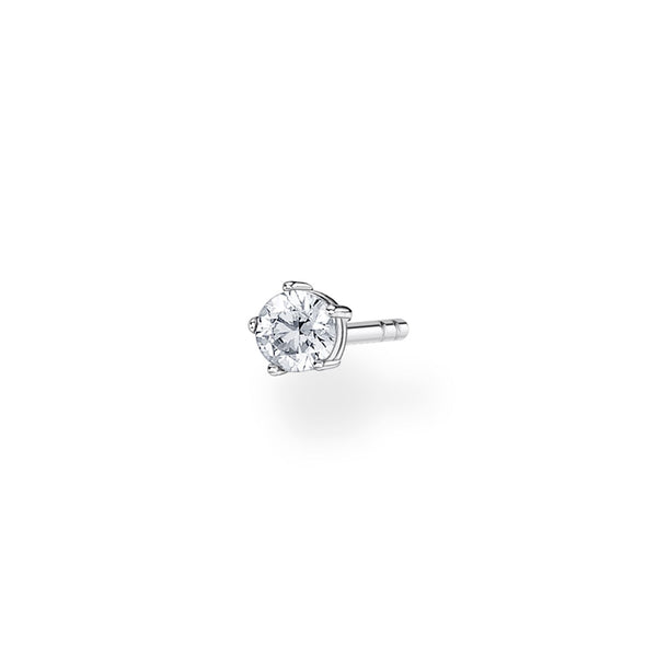Thomas Sabo Ear Stud White Stone (Single)