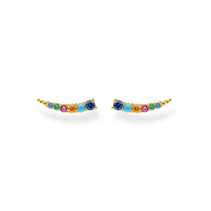 Thomas Sabo Ear Climber Colourful Stones