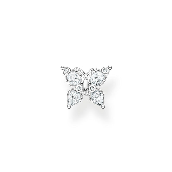 Thomas Sabo Single Ear Stud Butterfly Silver