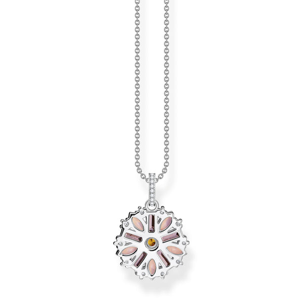 Thomas Sabo Necklace Flower Silver