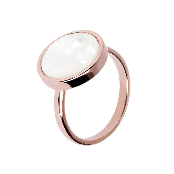 Bronzallure Mineral Stone Ring