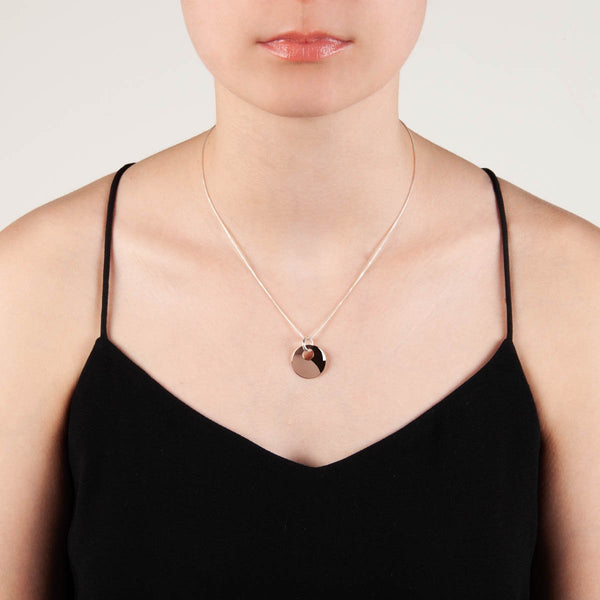 Najo - Lentil Necklace Rose