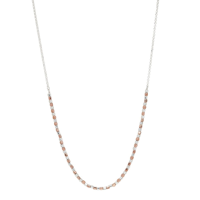 Najo - Rosy Pretty Pebble Necklace