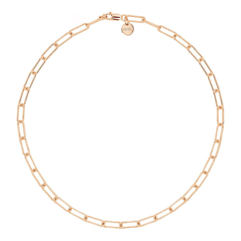 Najo - Vista Rose Gold Chain Necklace