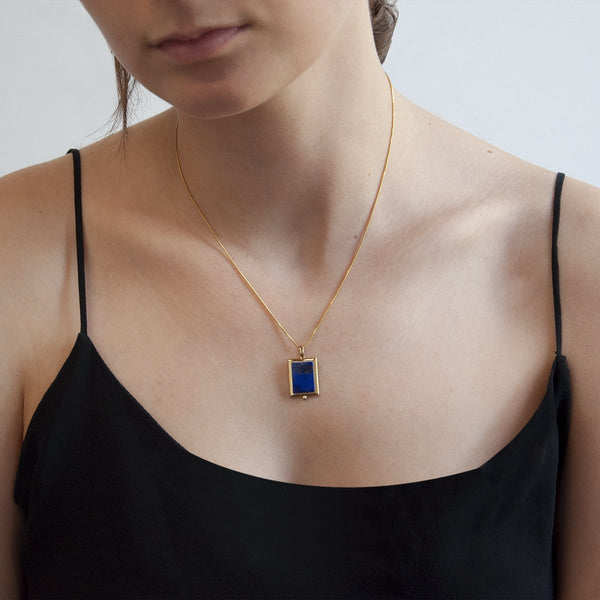 Najo Josephine Lapis Necklace