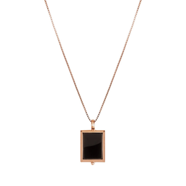 Najo Josephine Black Onyx Necklace