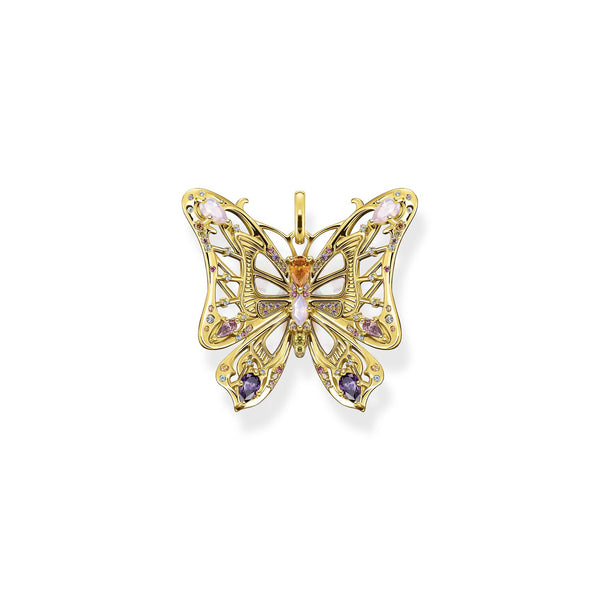 Thomas Sabo Pendant Butterfly Gold