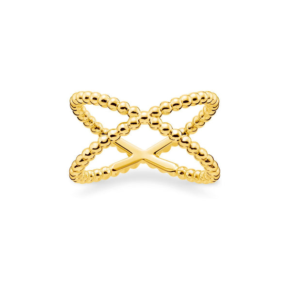 "Thomas Sabo Ring ""Dots"" Gold"