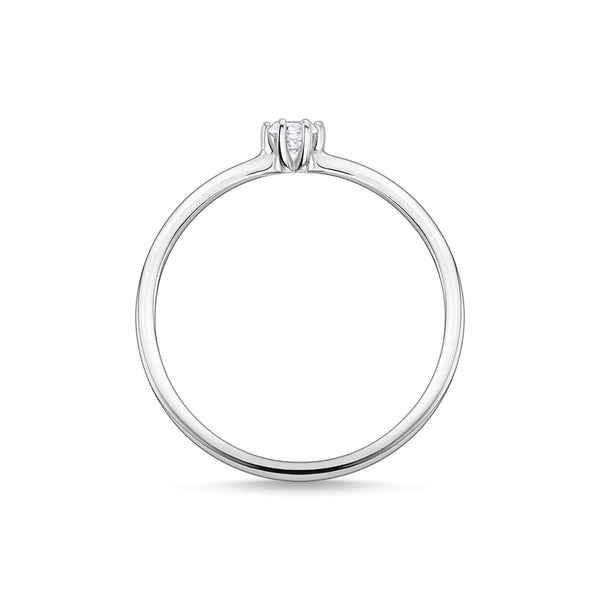 Thomas Sabo Ring White Stone