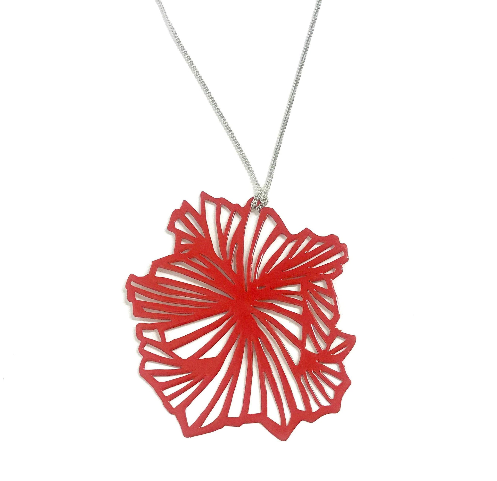 Fan Pop-Out Pendant - Pop-Out Jewelry