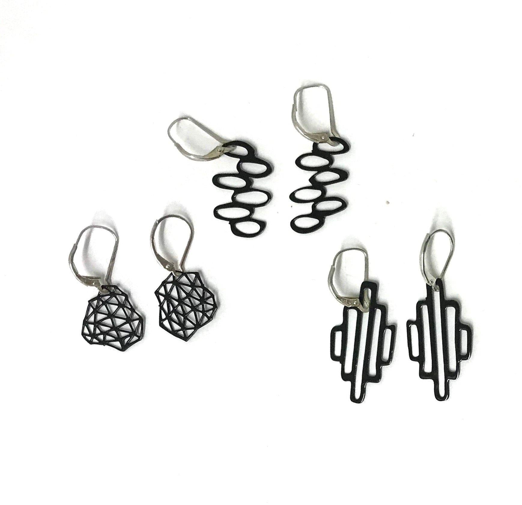 Mini Mod Pop-Out Earrings - Pop-Out Jewelry