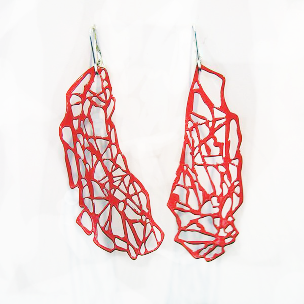 Tree Lace Pop-Out Earrings - Pop-Out Jewelry
