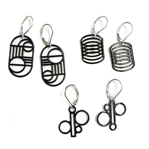 Mini Geo Pop-Out Earring Set - Pop-Out Jewelry