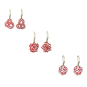 Mini Flower Pop-Out Earrings - Pop-Out Jewelry