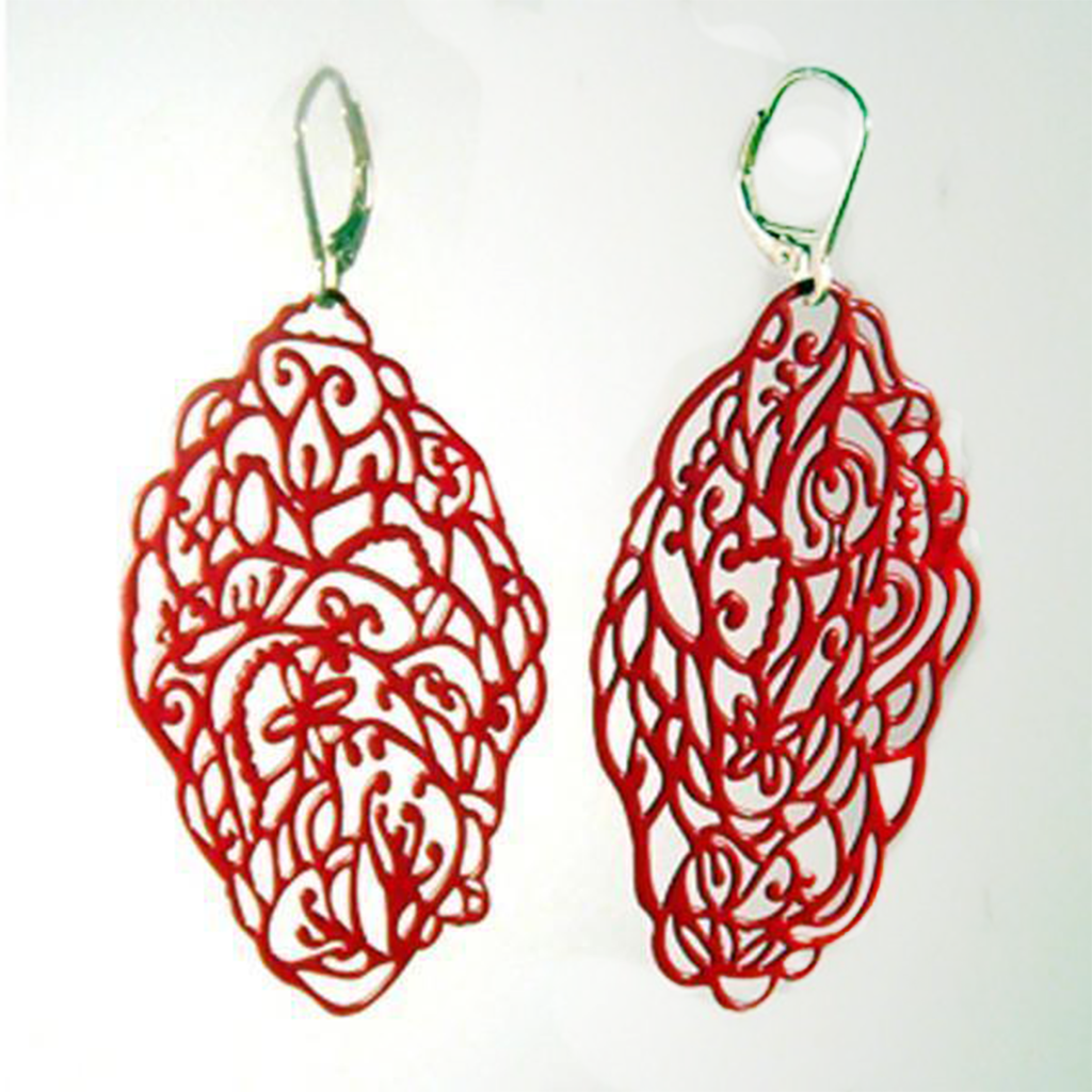 Garden Pop-Out Earrings - Pop-Out Jewelry