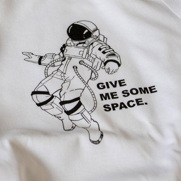 T-Shirt Give me some space - wise enough
