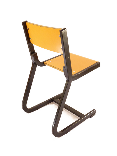 Chaise d'école Espagnole orange