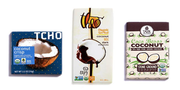 Loco for Coco-Cocoa: The Best Coconut-Filled Chocolate Bars