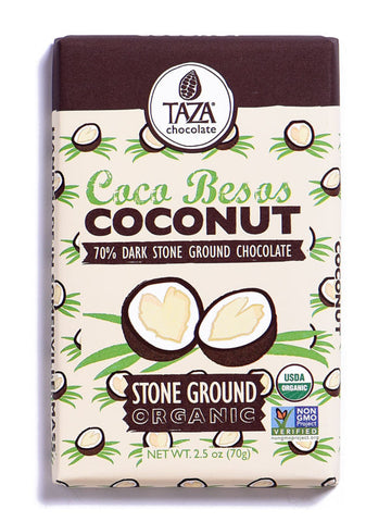 Taza Coco Besos Stone-Ground Chocolate