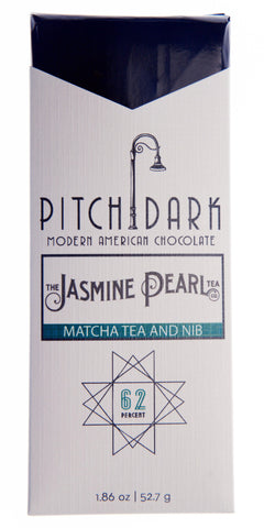 Pitch Dark Jasmine Pearl Matcha Tea and Nib