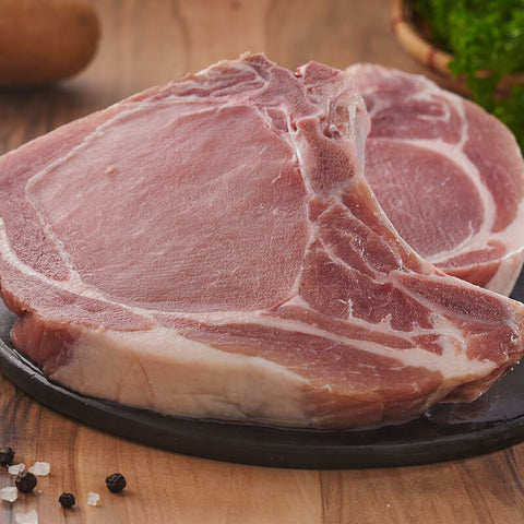 Pork Chops Bone In (Imported) (250 gms / pcs)