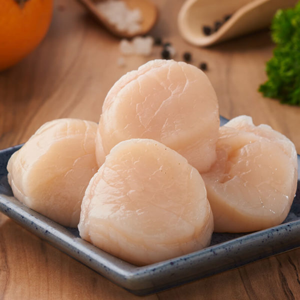 Scallops (Imported) 250 gms (approx. 7 pcs / pack)