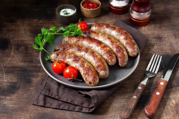 Bockwurst Sausage (Imported) 400 Grams (4 Sausages per pack)