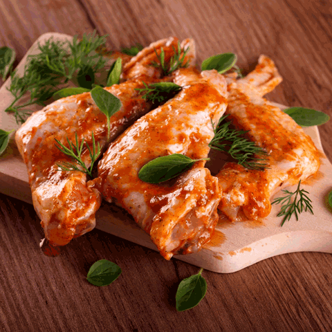 Marinated Chicken Wings (Mild Spicy) (500 gms)